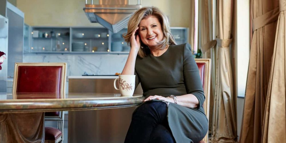 Arianna Huffington. Photograph: Mike McGregor/Mike McGregor for the Observer Magazine